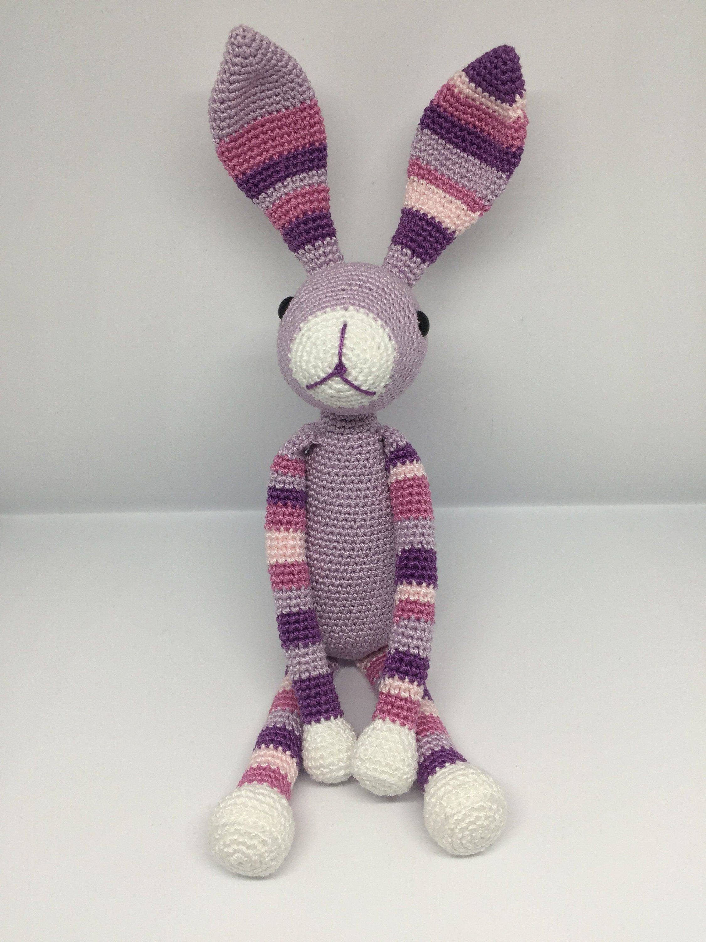 Crochet Pattern Amigurumi Bunny Rabbit Toy for sale online | eBay | 3000x2250