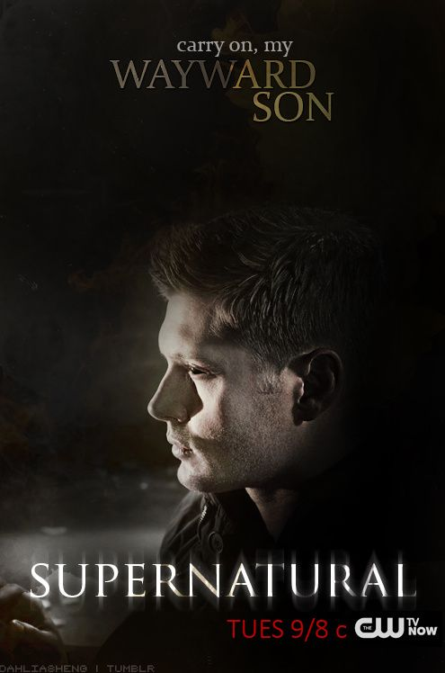 Demon Dean Season 10 Fan Made Poster By Dahliasheng On Tumblr