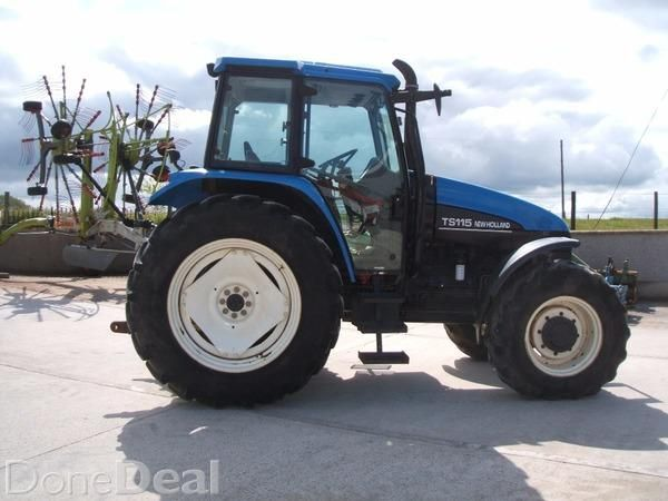 2003 New Holland TS115 SL dual power | Stephen Roberts