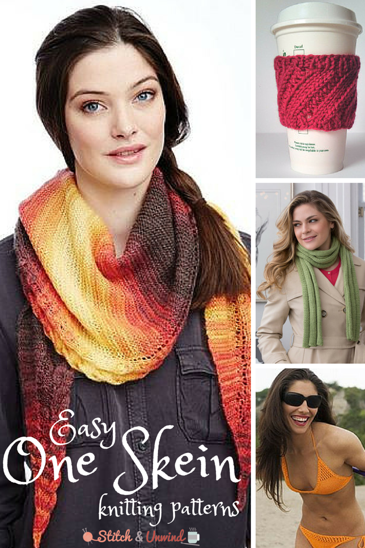 The quickest one skein patterns youll ever knit knit patterns easy one skein knitting patterns dt1010fo