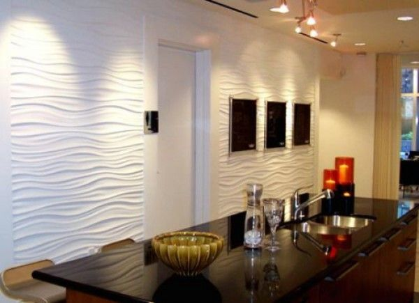 textured ripple wall - Textured Wall Designs