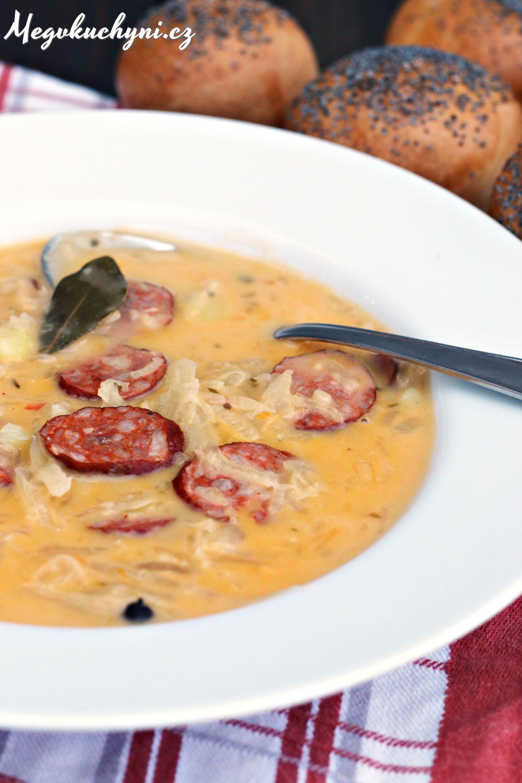 Zelňačka s klobásou | Cabbage sausage soup