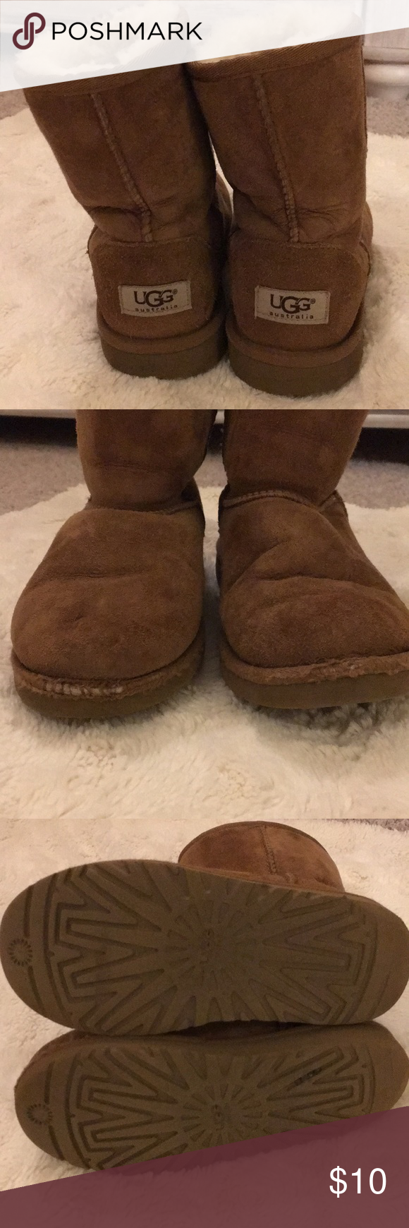 Uggs girls boots size my year old outgrew these too quick any