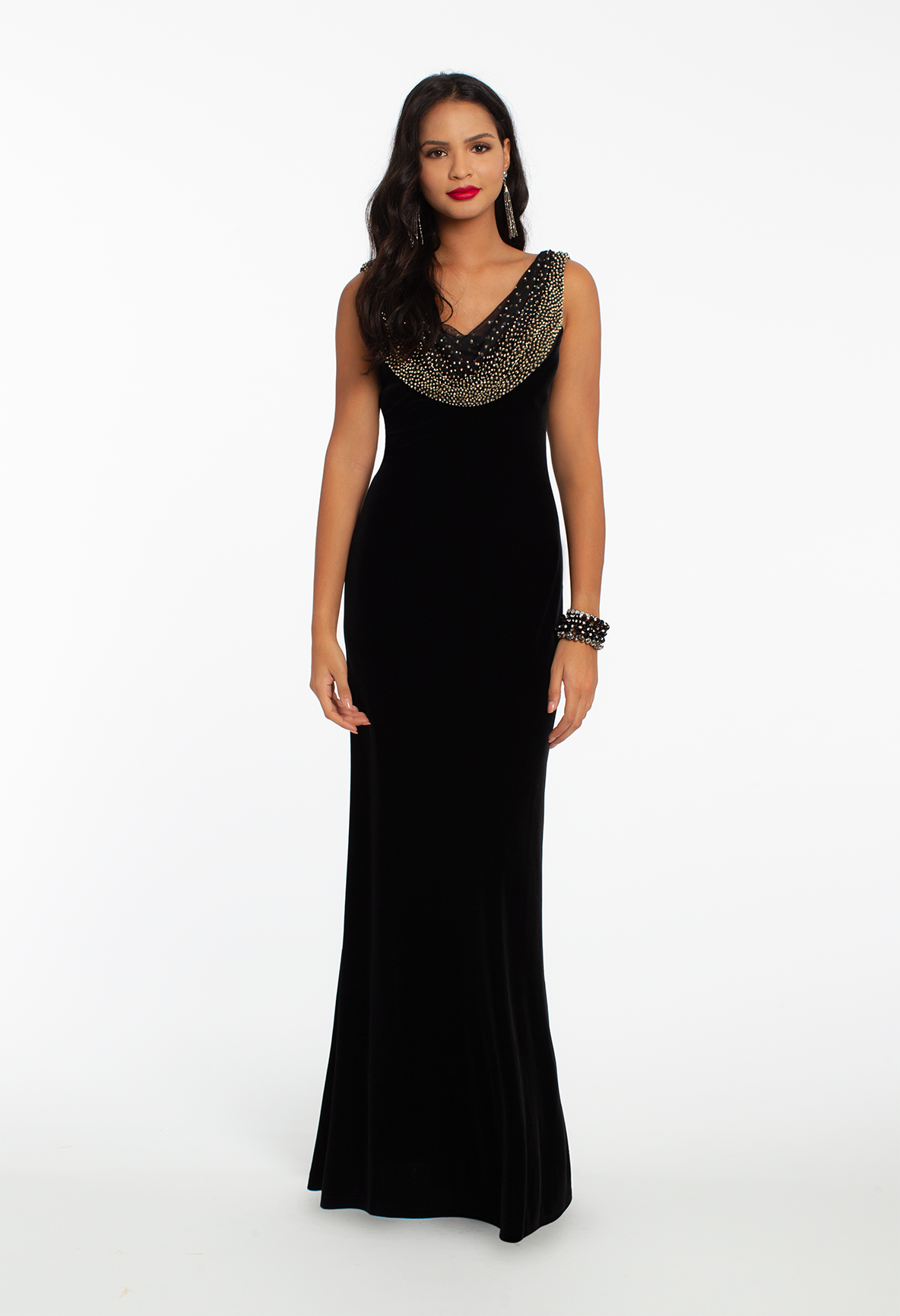 f4c3b81f758b Velvet is a must when it comes to winter weddings: this elegant mother of  the bride dress is not only soft and sophisticated, but the flattering  fitted ...