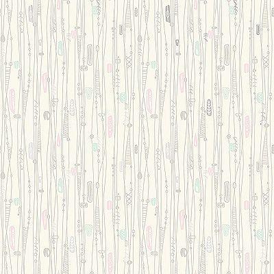 Home Wallpaper Samples pink bath: bradbury bradbury googieland in turquoise wall paper