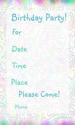 Printable Birthday Invitations Templates For Girls  Google Search