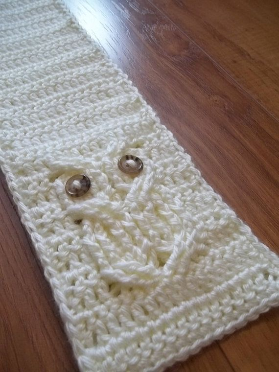 Its A Hoot An Owl Scarf Crochet Pattern Child And Adult Sizes