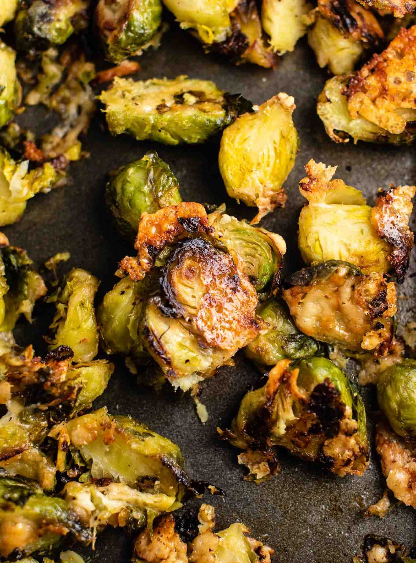 How to roast frozen brussel sprouts that actually taste