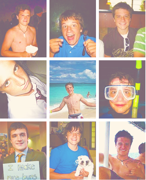 The faces of Josh Hutcherson :)