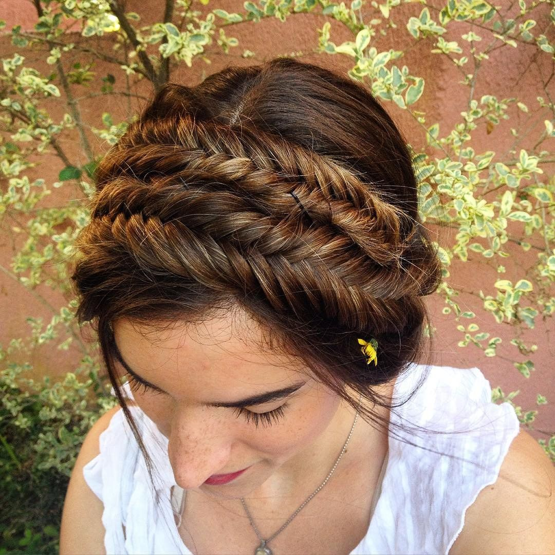 Fishtail Braid Hairstyles Awesome Pinballet On Hair Styles  Pinterest  Fishtail Braid Hairstyles