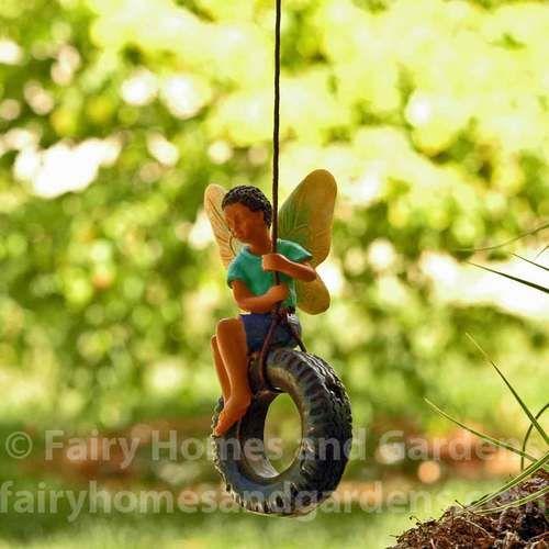 Tire Swing Fairy #tireswing