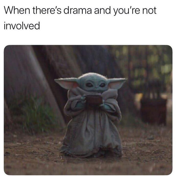 Pin By Steph Sed On Meme S Hellyeah Yoda Meme Yoda Funny Yoda