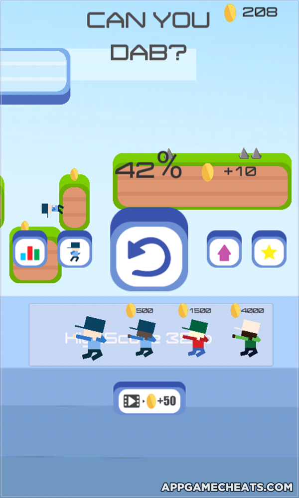 Can You Dab? Cheats, Tips, & Hack for Coins, All Characters, & All Levels Unlock  #Arcade #CanYouDab #Strategy http://appgamecheats.com/can-you-dab-cheats-tips-hack/
