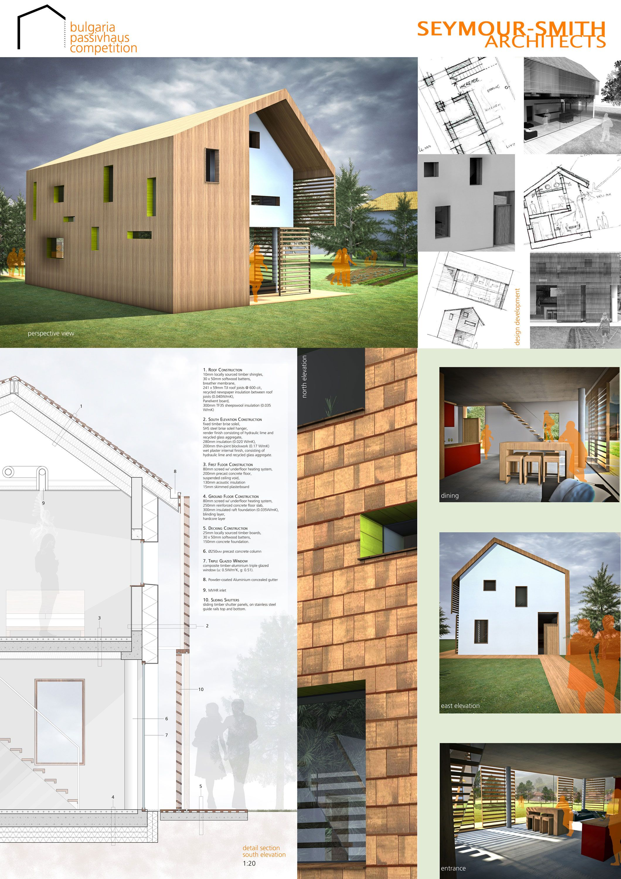 Seymour Smith Architects Architecture Design Competition Architecture Design House Styles