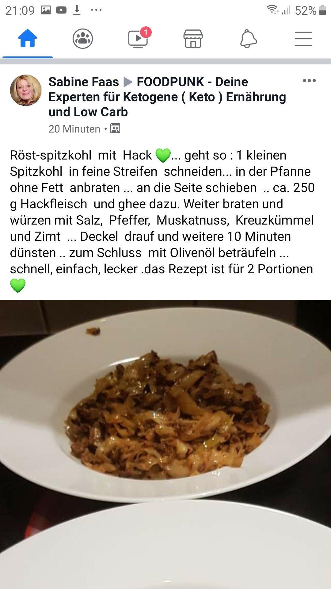 Pin Von Renate Sasse Auf Ketorezepte Fleisch Spitzkohl Ghee