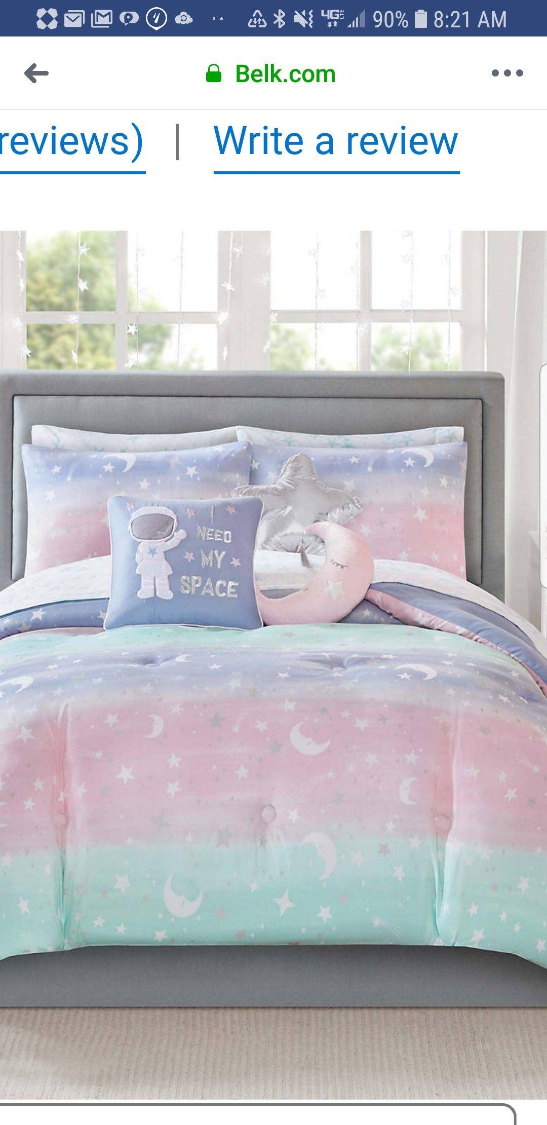 Lightning Bug Stardust comforter from Belk (With images