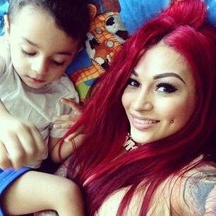 Brittanya Razavi & Son   analeigha   Pinterest