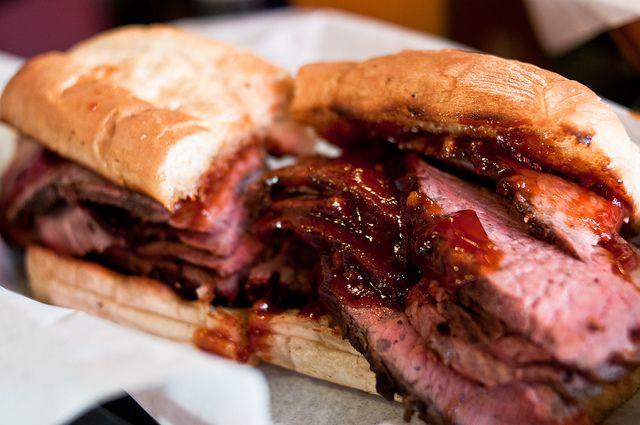 Firestone S Tri Tip Sandwich Tri Tip Sandwich Tritip Recipes