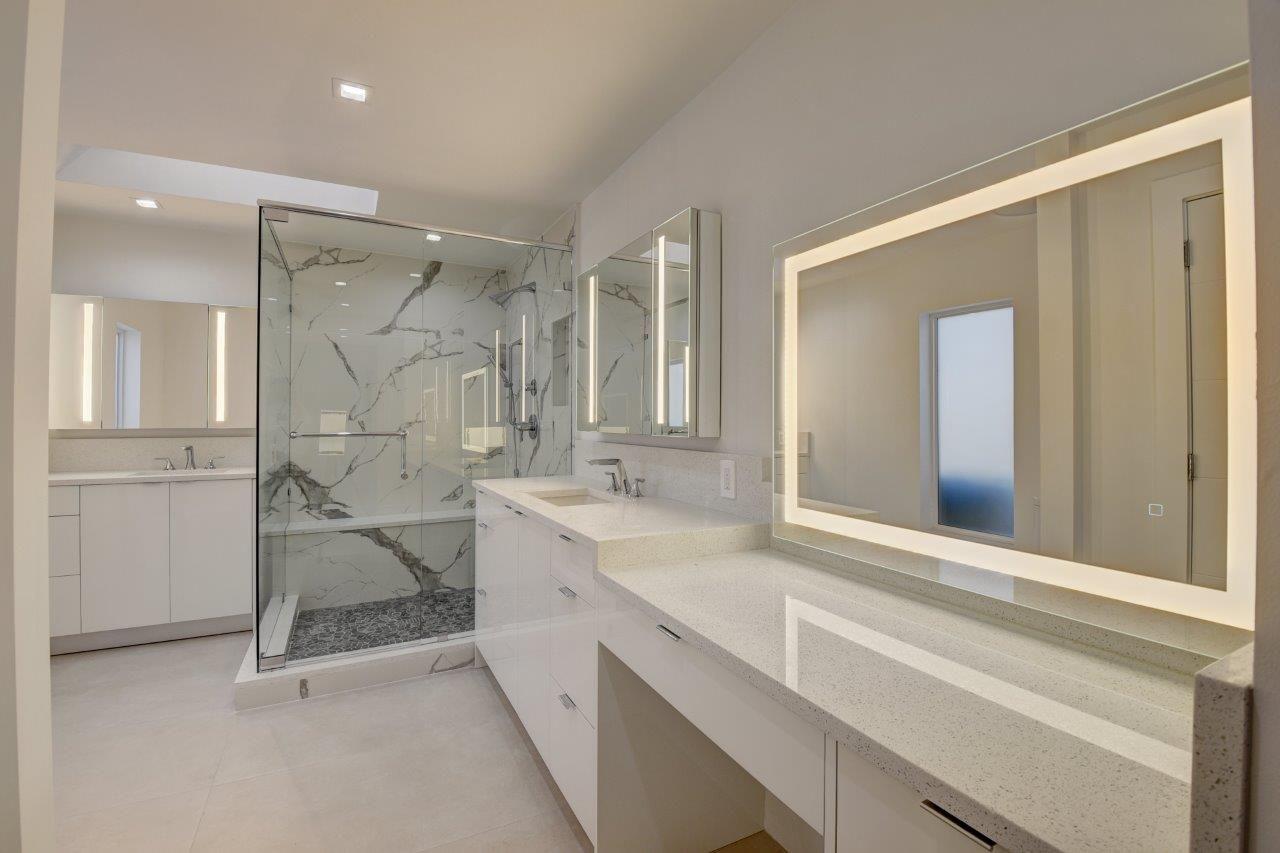 Mavisever 48 36 Inch Led Lighted Bathroom Mirror And Medicine Cabinet With Anti Fog Feature Medicine Cabinet Mirror Lighted Bathroom Mirror Bathroom Mirror