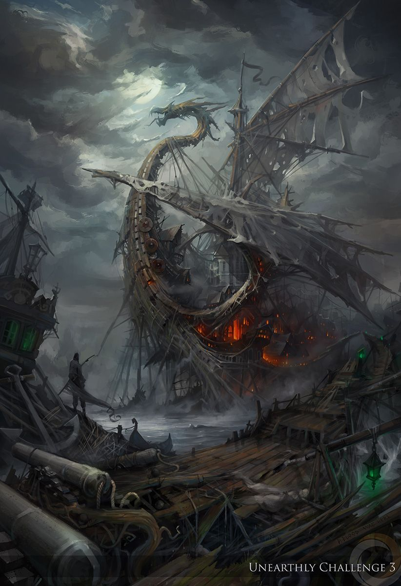 Lost ships by haryarti on deviantART | Once upon a time