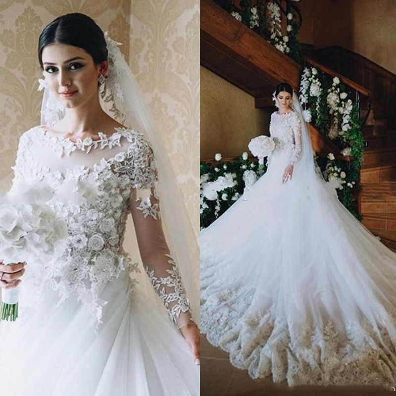 Cheap Gowns For Kids Sale Buy Quality Gown With Lace Sleeves