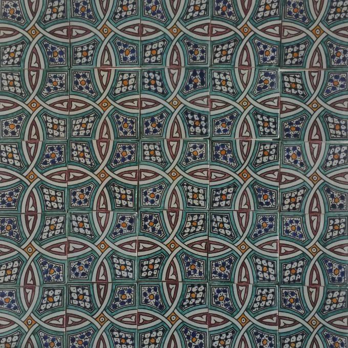 Wunderschönes Muster Orientalische Marokkanische Handbemalte - Casa moro fliesen