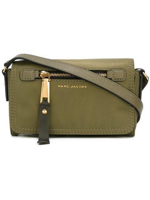 MARC JACOBS Trooper Shoulder Bag.  marcjacobs  bags  shoulder bags  leather   nylon  lining   e2fa50376339