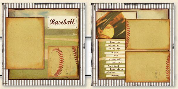 Uniformed Scrapbooks Of America 12 X 12 Page Kit Vintage