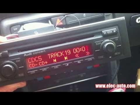 Lire des MP3 sur clé USB ou carte SD avec l'autoradio d'origine - Citroen Xsara - YouTube