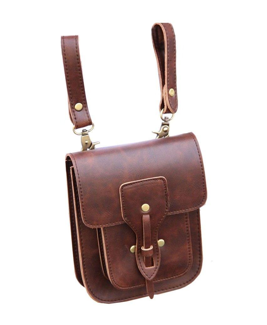 Retro PU Leather Mini Shoulder Bag - Bags - Bags   Accessories ... aebe8742b7300