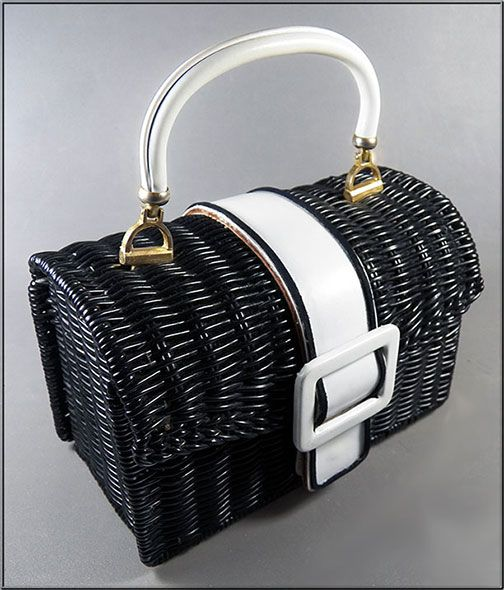 Vintage Black and White Handbags