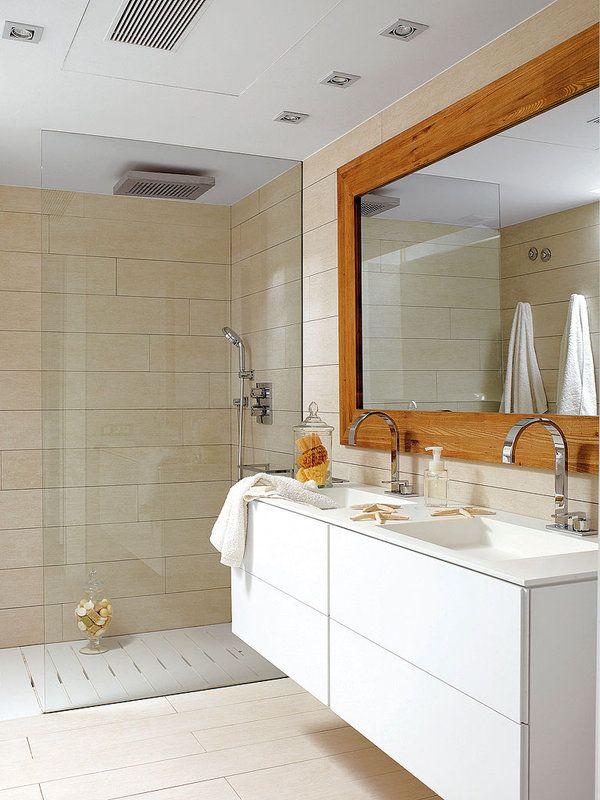 Un baño totalmente white | Bathroom | Baños, Inspiración ...