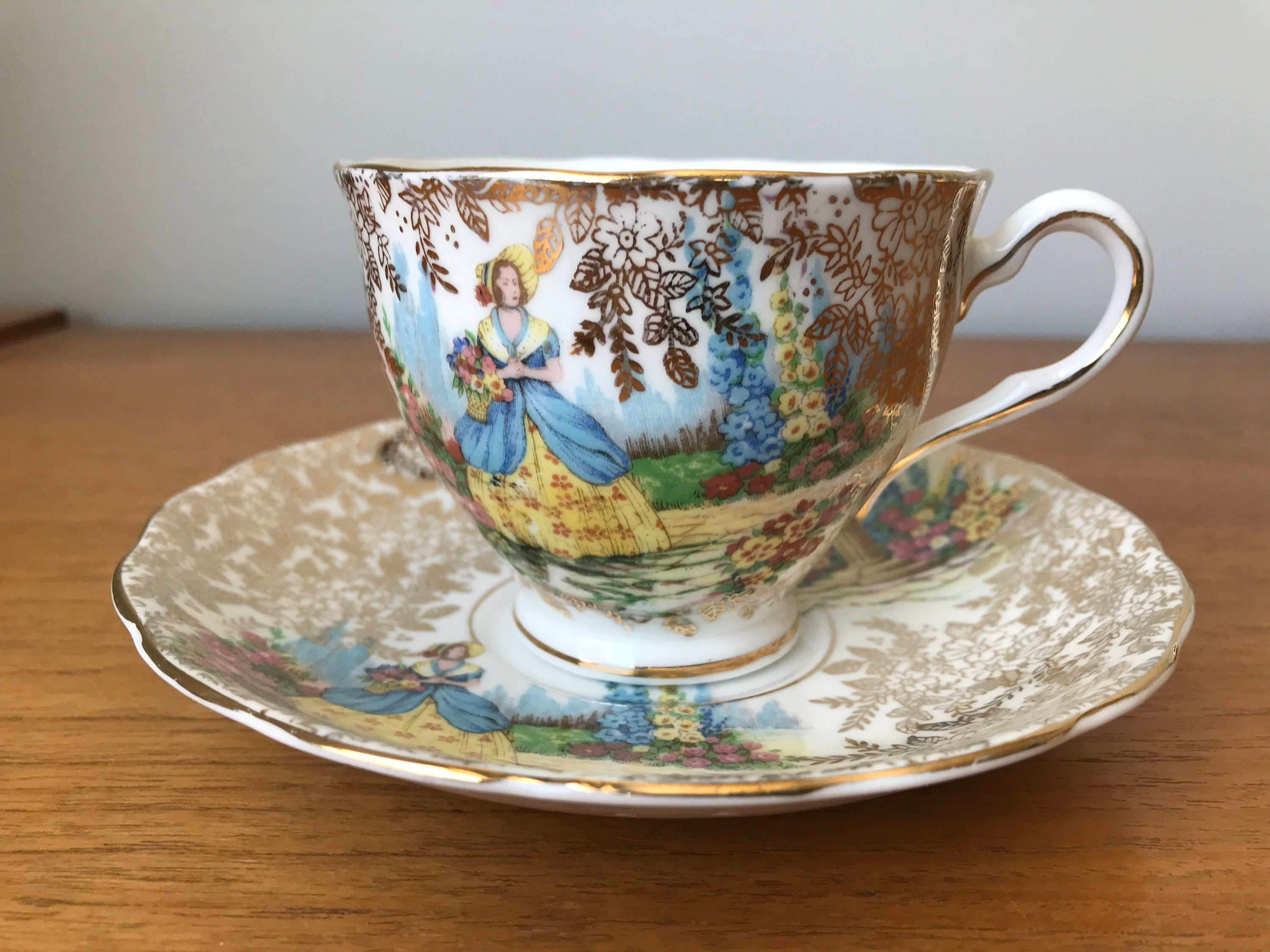 Coventry Floral Lace 665 Tea Cup