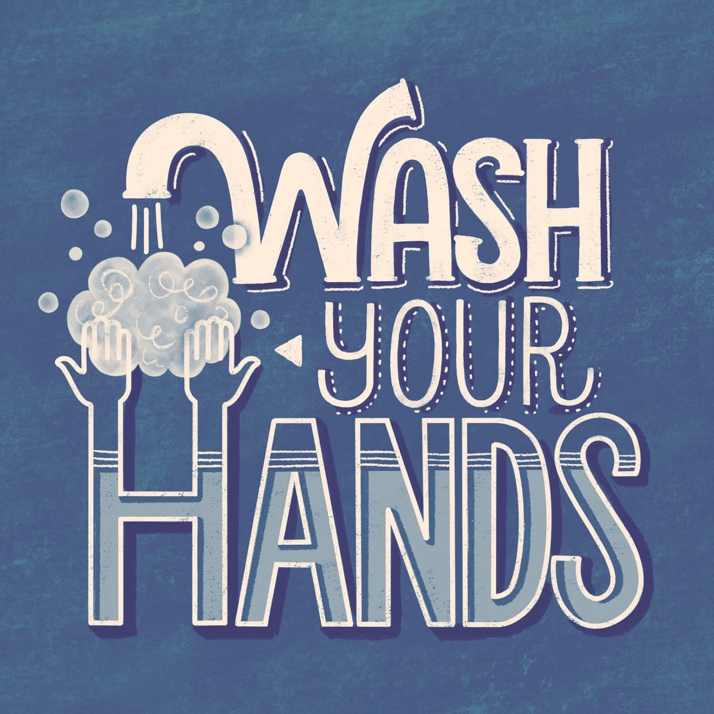 Washyourhands 1 Lettering