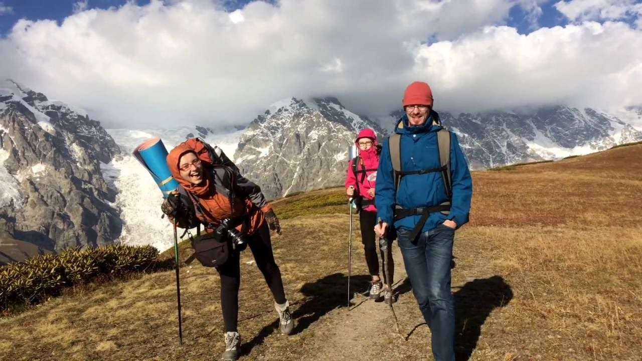 Hiking in Svaneti region Georgia. #travel #ttot #nature #photo #vacation #Hotel #adventure #landscape https://www.youtube.com/watch?v=-vwgJd-ks68&feature=youtu.be
