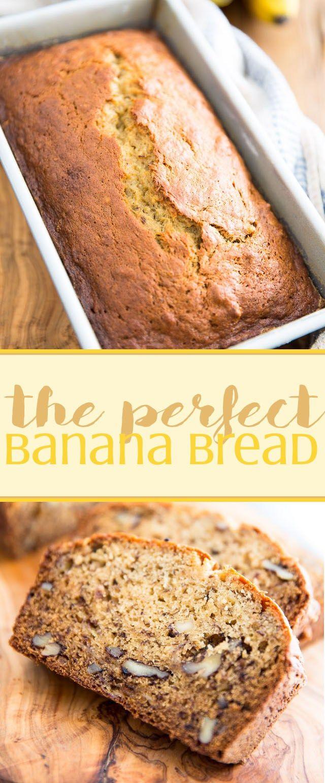 The Perfect Banana Bread | Recipe | Perfect banana bread ...