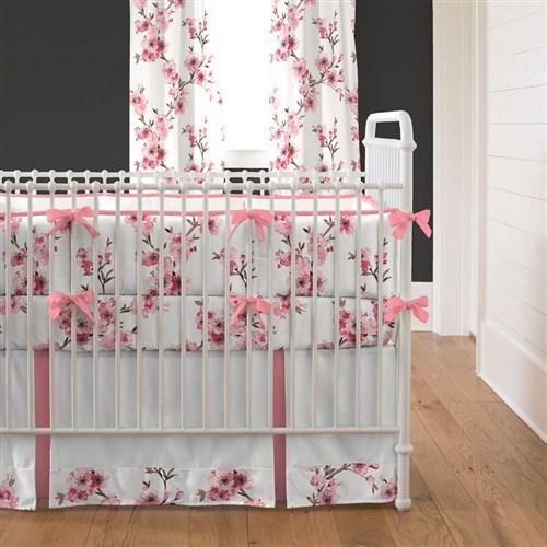 Cherry Blossom Crib Bedding