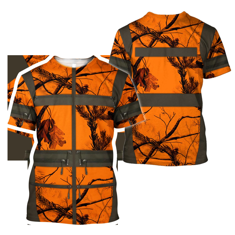Premium Hunting for Hunter 3D Printed Unisex Shirts - T-shirt / S