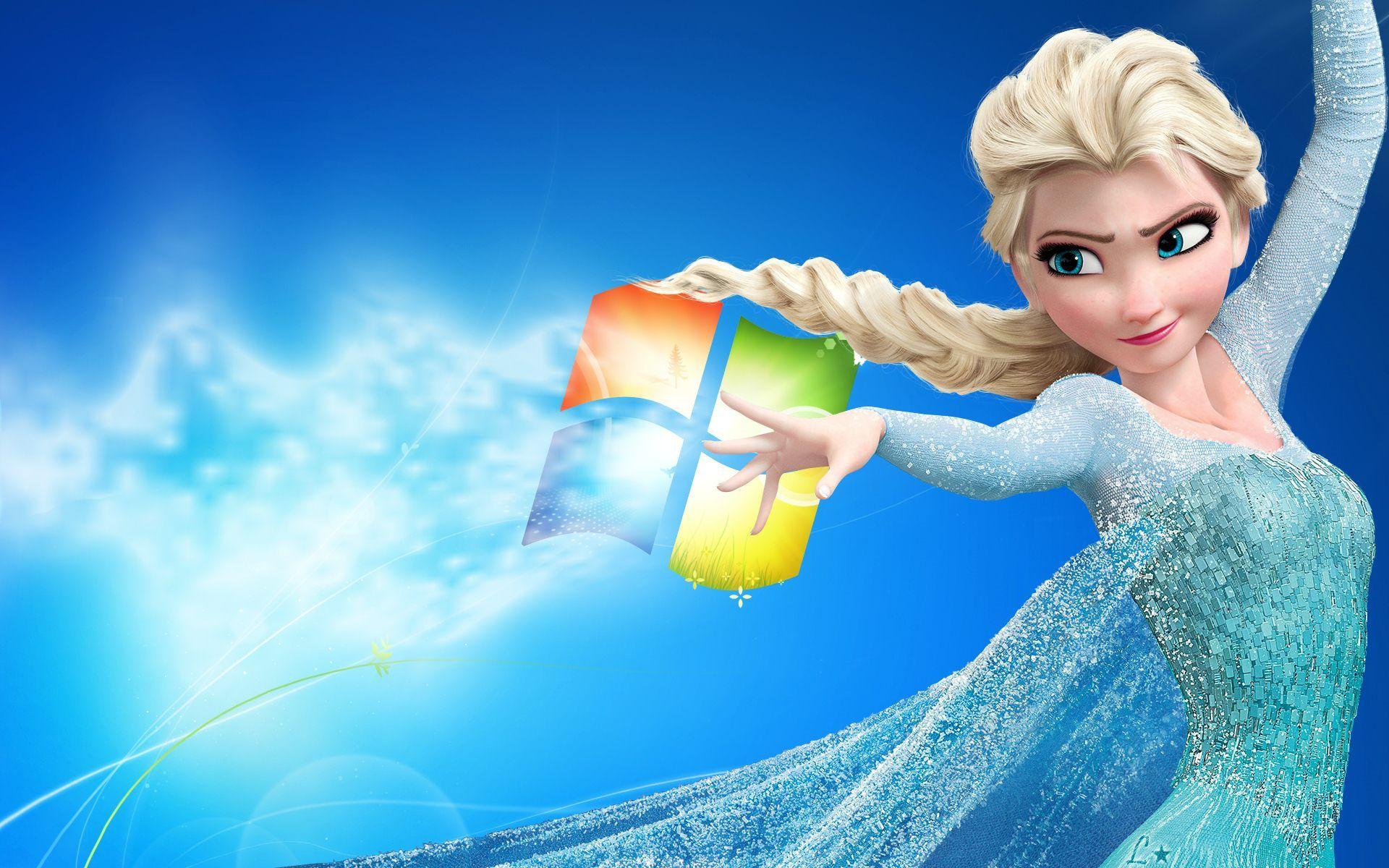 Elsa From Frozen Windows 7 Hd Wallpaper Id 332 Download Page Frozen Wallpaper Disney Frozen Elsa Disney Frozen