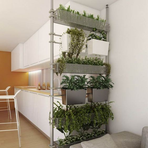 Jardines verticales interiores (16 Interiors, Kitchens and Room