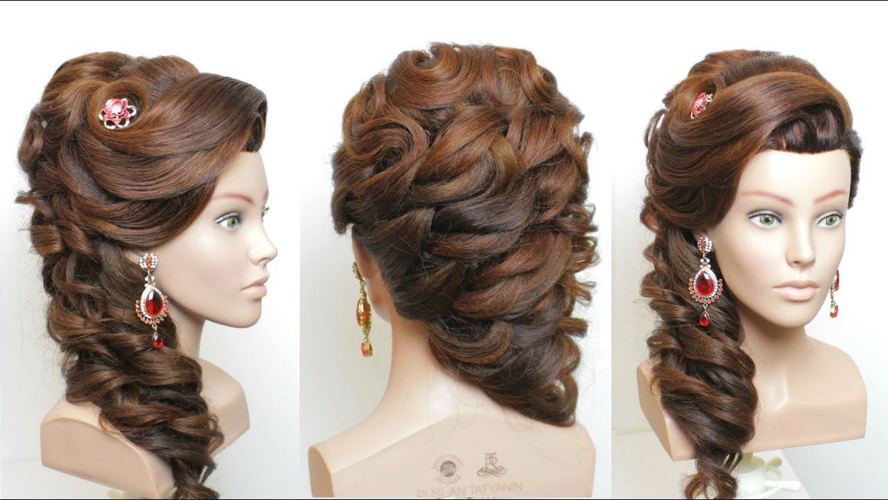 the best new bridal hairstyle step by step. hair tutorial