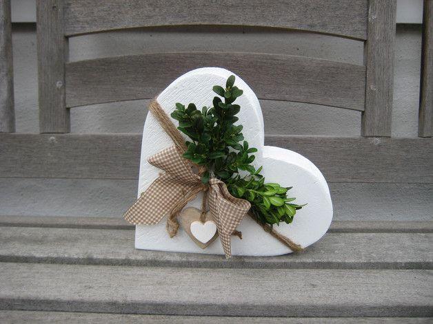 Photo of Geschenke für Frauen – ♥♥ FARBWAHL: XL LANDHAUS vintage shabby Herz ♥♥ …
