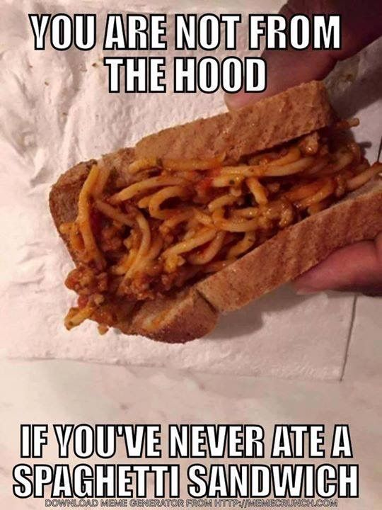 Sandwich Meme : sandwich, Well,, Hood
