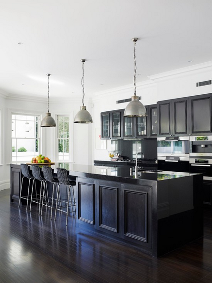 Buh Bye, All White Kitchens! This Dark, Badass Design Trend Is On The Rise