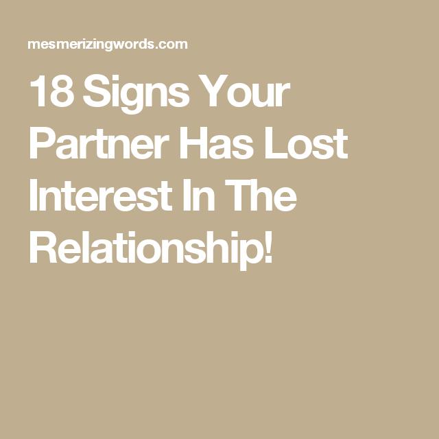 when your boyfriend loses interest