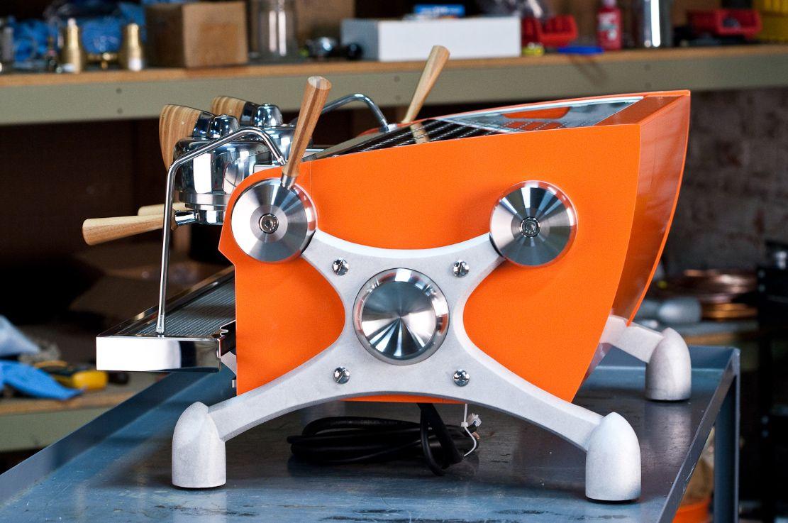 Slayer Espresso Machine - Customizable to look anyway. Tardis console?