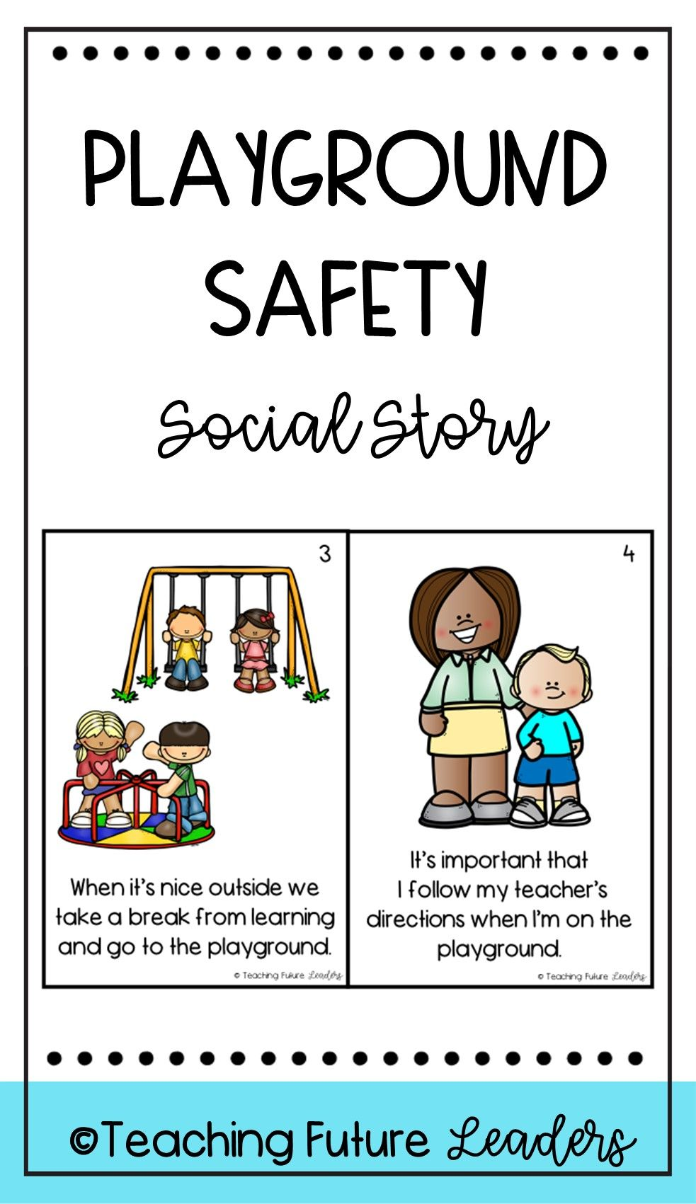 Playground Safety Social Story Playground Safety Social Stories Story Activities [ 1701 x 983 Pixel ]