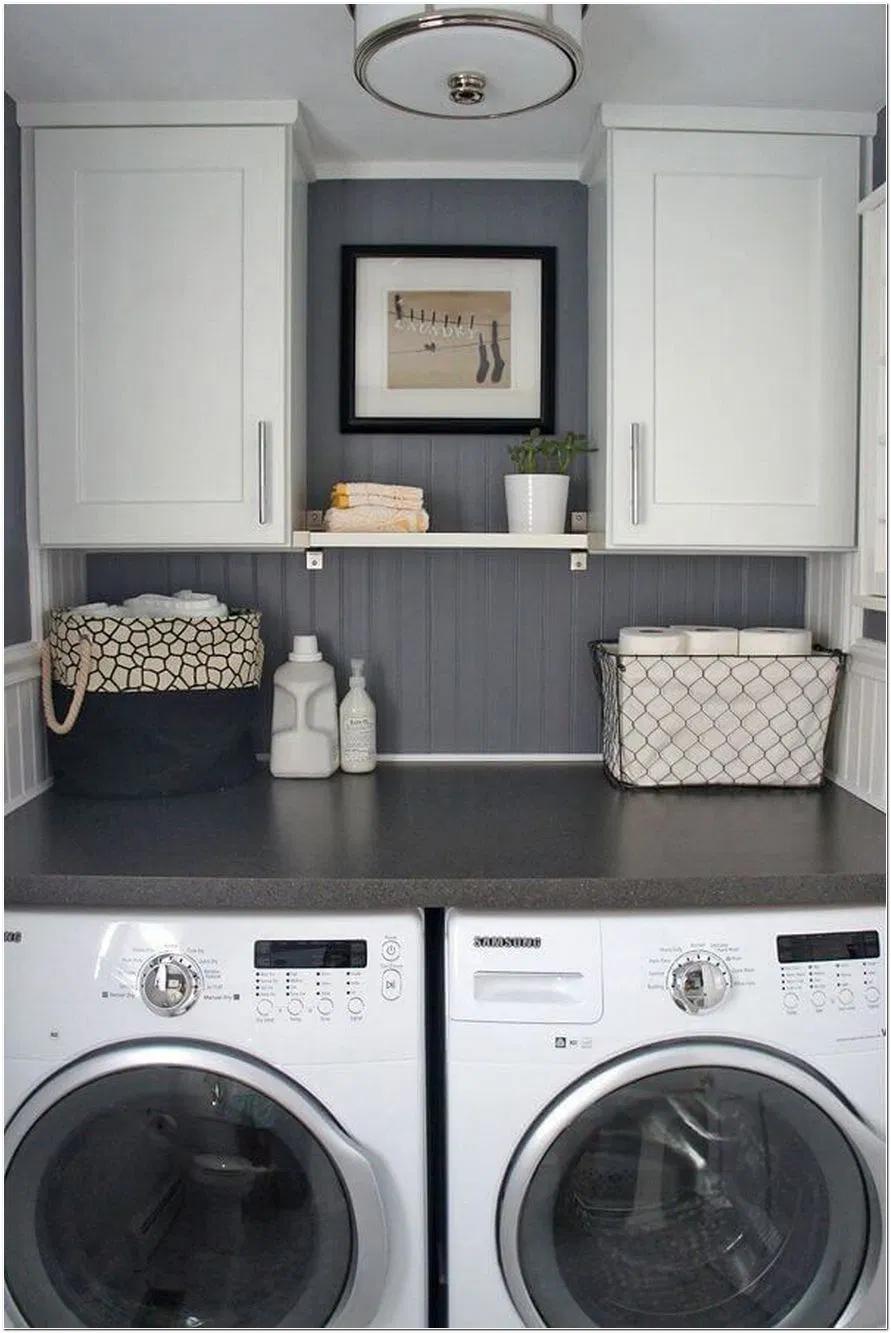 20 Ideen für die Aufbewahrung von Wäschereiräumen in Smart ...