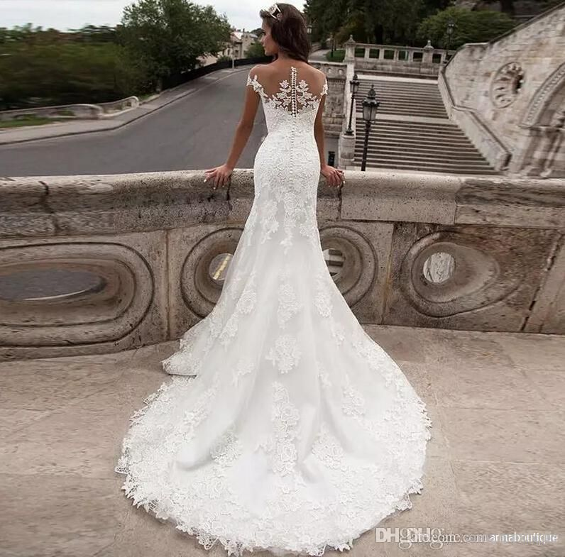Milla Nova 2017 New Arrival Mermaid Wedding Dresses