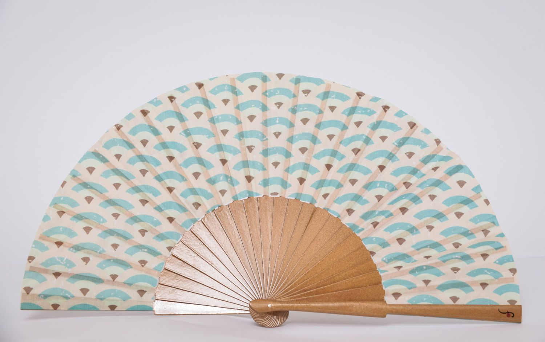 Wedding Favor | Folding HAND FAN | Art Deco design | bridesmaid ...